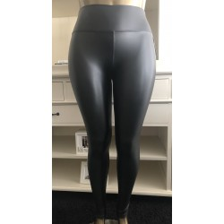 Leatherlook legging met...
