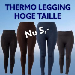 Thermo legging hoge taille...